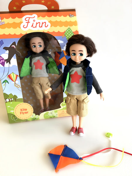 Kite Flyer Finn Boy Doll - Lottie 风筝男童娃娃