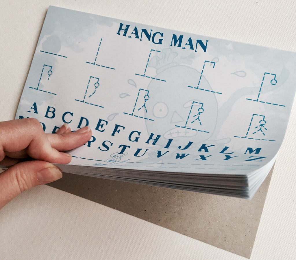 Hang Man Game Pad