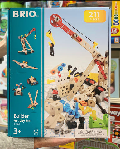 Brio Builder Activity Set 34588 - 211 pieces