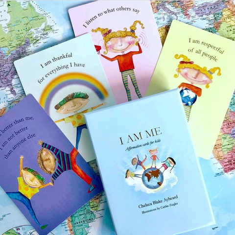Affirmation Cards for Children - I AM ME