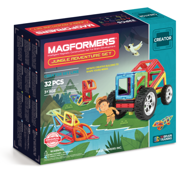 Jungle Adventure Set - Magformers