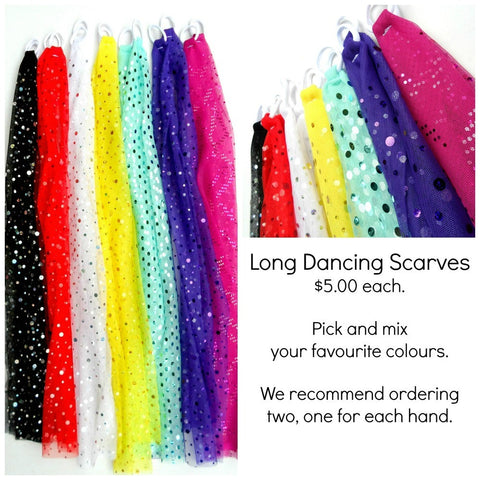 Long Dancing Scarves