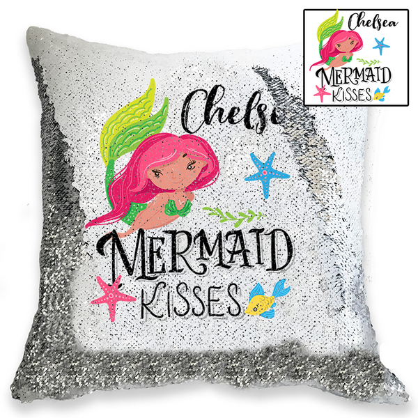 Personalised Sequin Cushion Cover - 72 different DESIGNS