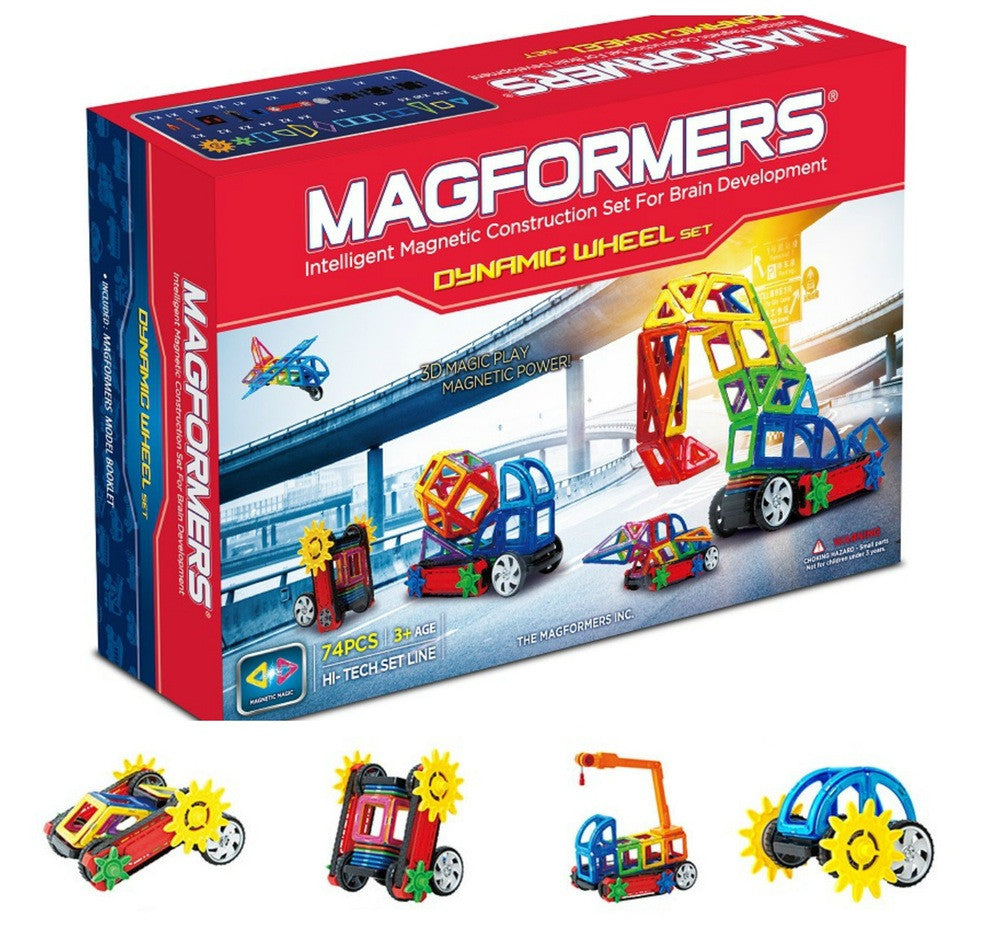 Magformers Dynamic Wheel Set