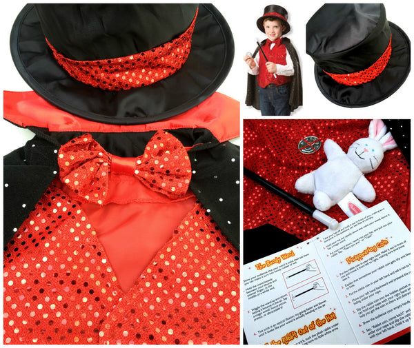 Magician Dress Up / Role Play Costume Set