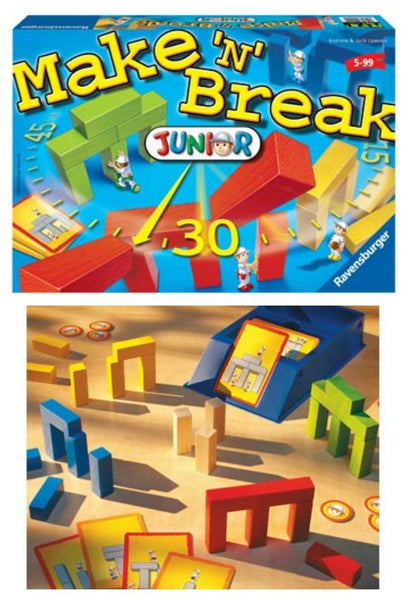 Make 'N' Break Junior Game - Ravensburger