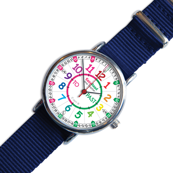 Easyread Time Teacher Watch - Rainbow Face