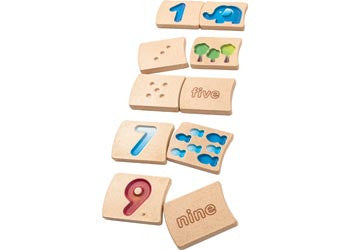 Number 1-10 Tile Set