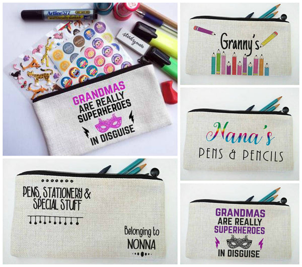 Mother's Day Personalised Pencil Case