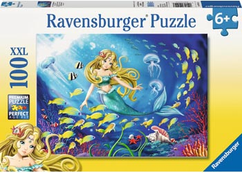 Little Mermaid Puzzle 100pc