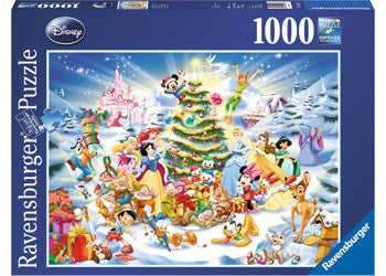 Disney Christmas Eve Puzzle 1000pc 迪斯尼圣诞节拼图1000片