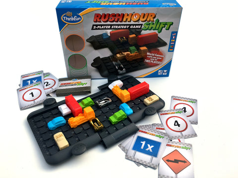 Thinkfun - Rush Hour : Shift - 2 Player Strategy Game