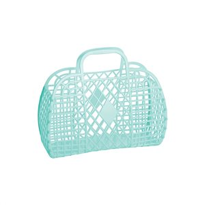 Sun Jellies Retro Basket Mint - Small