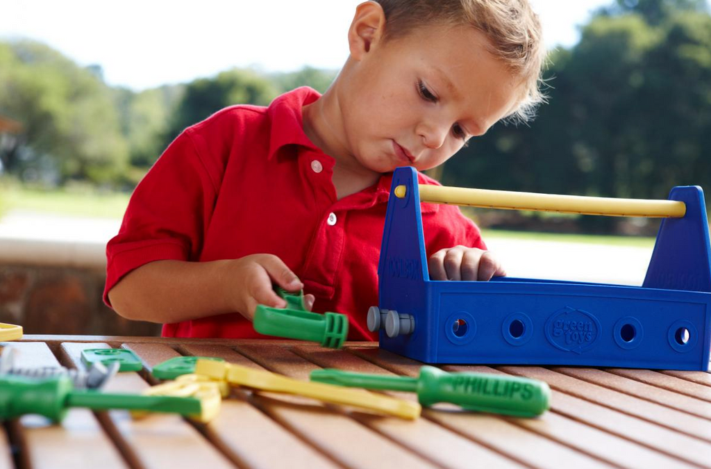 Green Toys – Tool Set – Blue