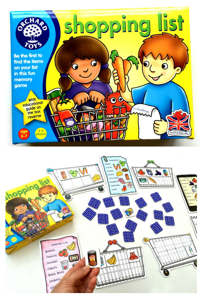 Orchard Toys - Shopping List Game