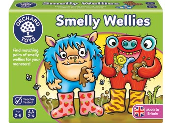 Smelly Wellies Game - Orchard Toys