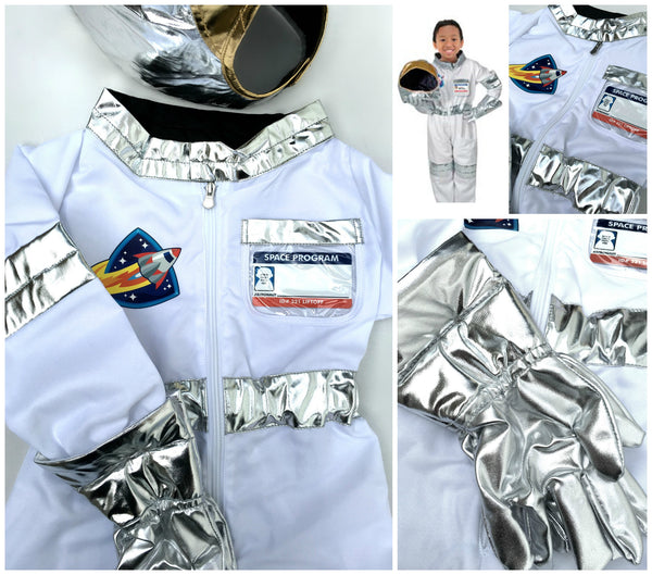 Astronaut Dress Up / Role Play Costume Set