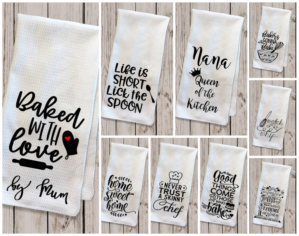 Personalised Mother's Day Tea Towel