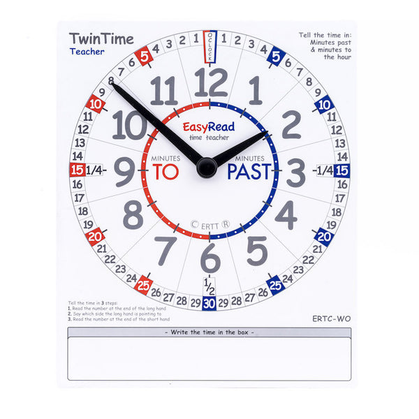 EasyRead TwinTime Teacher Edition - Large (Sold Individually)