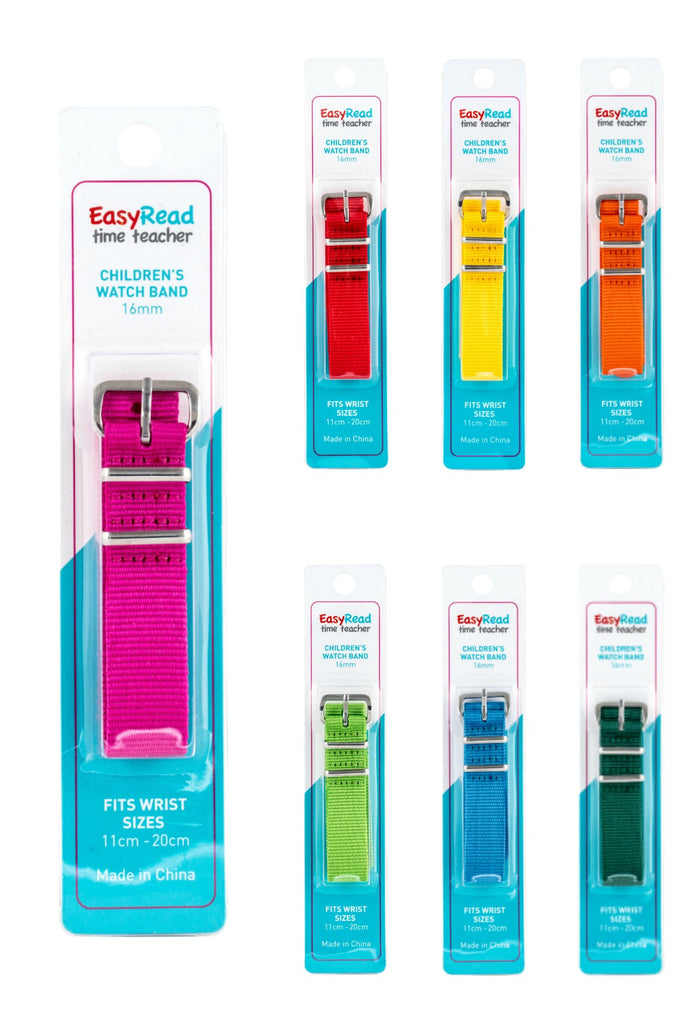 EasyRead Time Teacher Watch Bands (sold individually)