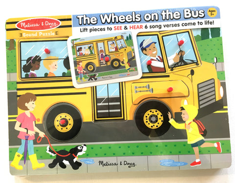 The Wheels On The Bus Sound Puzzle – 6pc