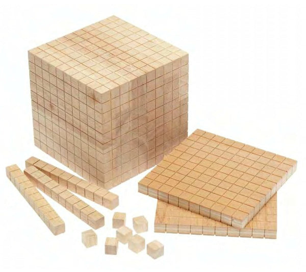 Base Ten Set - Wooden