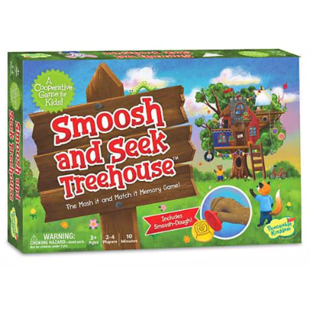 Smoosh and Seek Treehouse -  A Cooperative Game