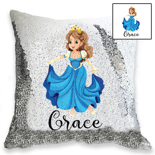 Personalised Sequin Cushion Cover - 100 different DESIGNS