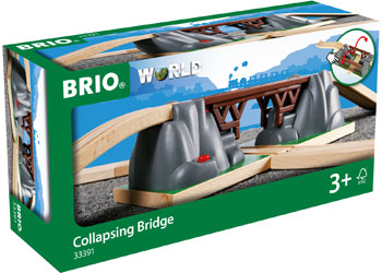 BRIO Bridge - Collapsing Bridge, 3 pieces