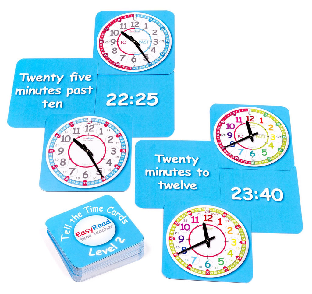 Tell the Time Cards Level 2