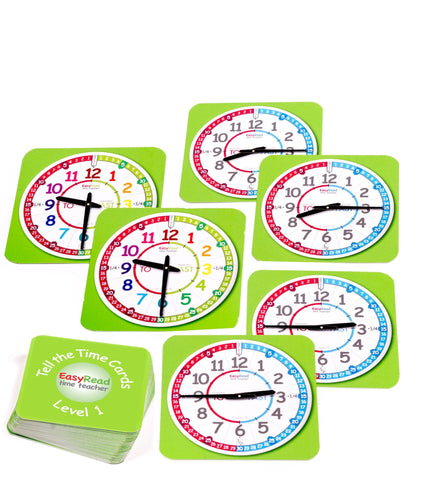 Tell the Time Cards Level 1