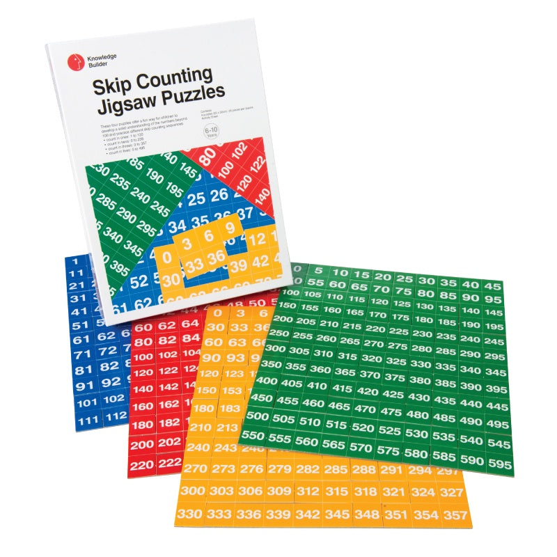Skip Counting Jigsaw Puzzles