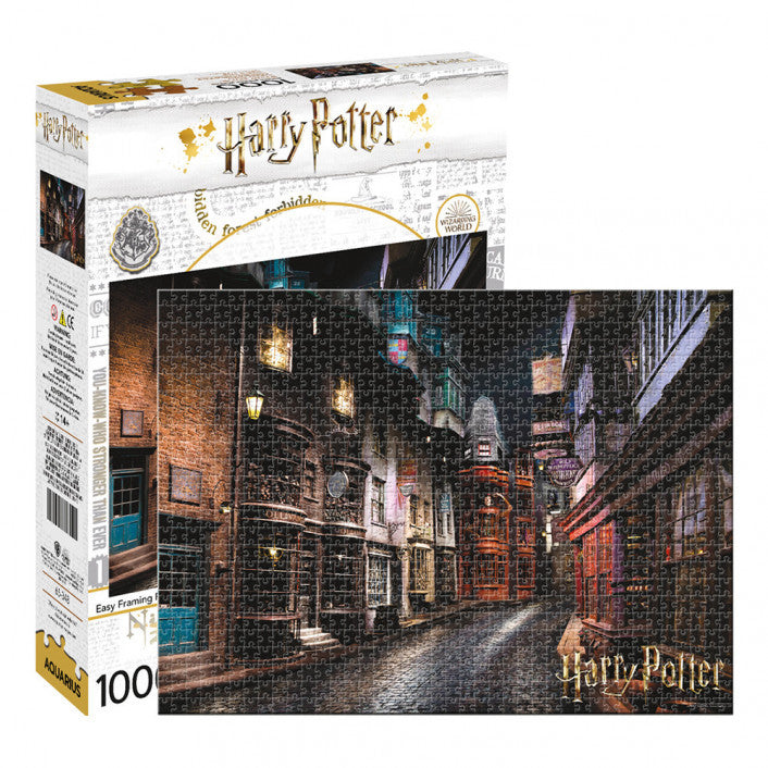 Aquarius Puzzle Harry Potter Diagon Alley Puzzle 1,000 pieces