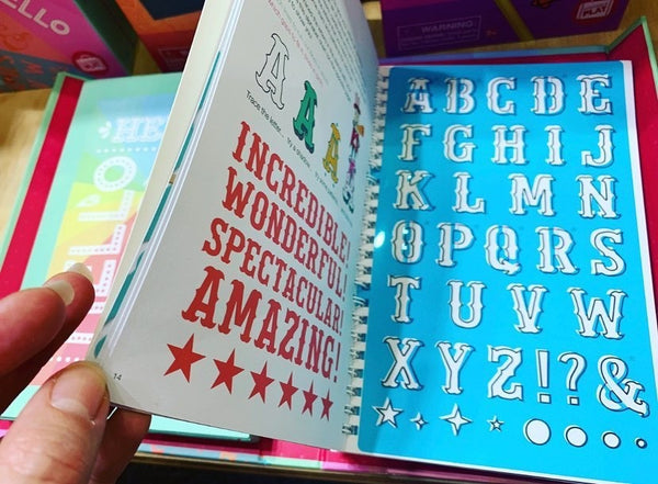 The Lovely Book of Lettering