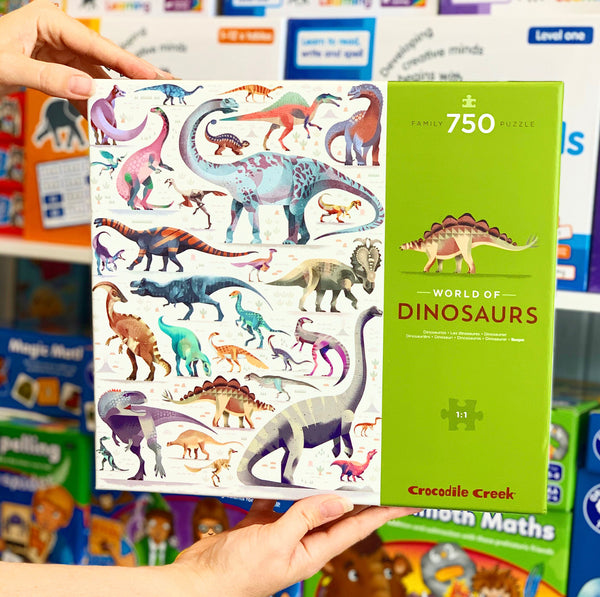 World of Puzzle 750 pc - Dinosaurs