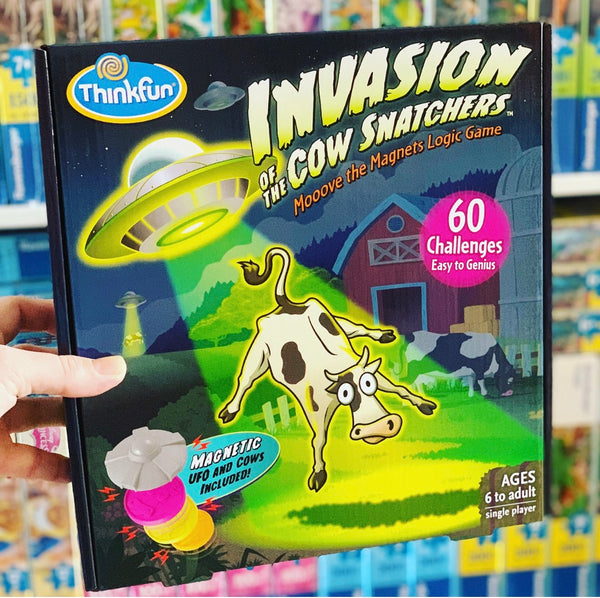 ThinkFun - Invasion of the Cow Snatchers