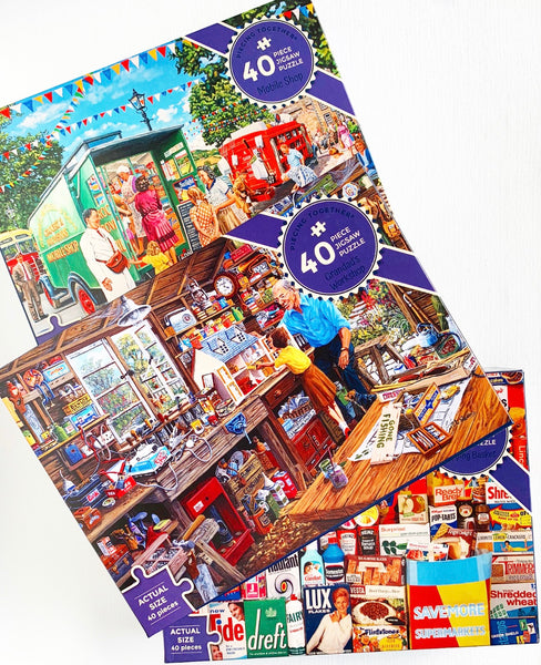 Piecing Together - 40 pc Puzzle