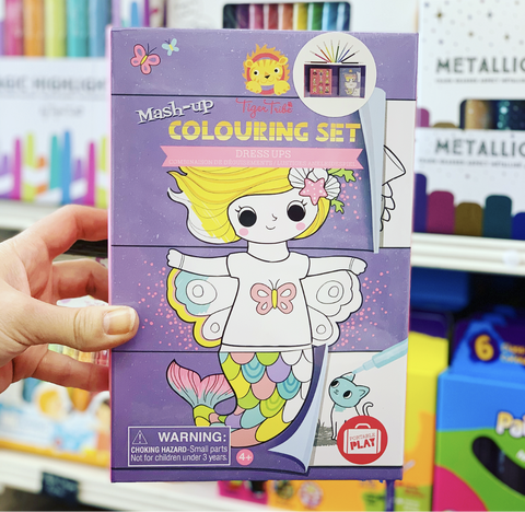 Mash-up Colouring Set - Dress Ups