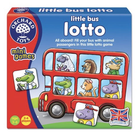Orchard Toys Mini Games- Little Bus Lotto