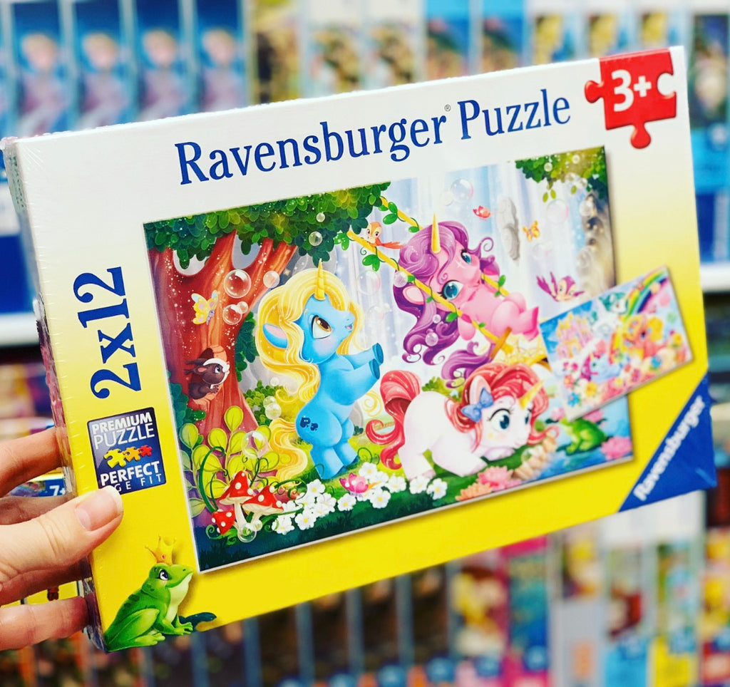 Unicorns at Play 2x12pc Puzzle