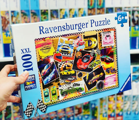 Dream Cars! 100pc puzzle