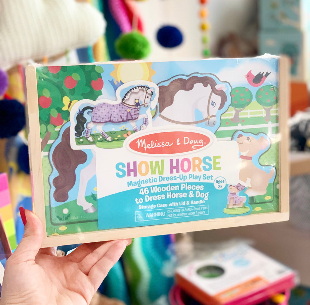 Show Horse Magnetic Dress Up Play Set