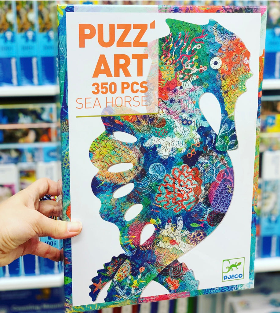 Sea Horse 350pc Art Puzzle