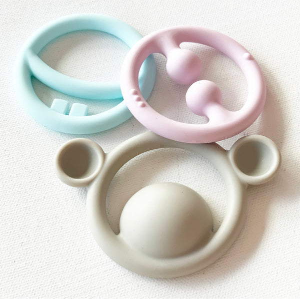 Nigi Nagi Nogi Tactile Teething Rings