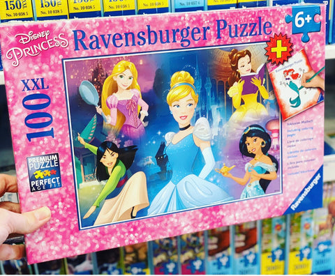Disneys Charming Princesses 100pc Ravensburger Puzzle