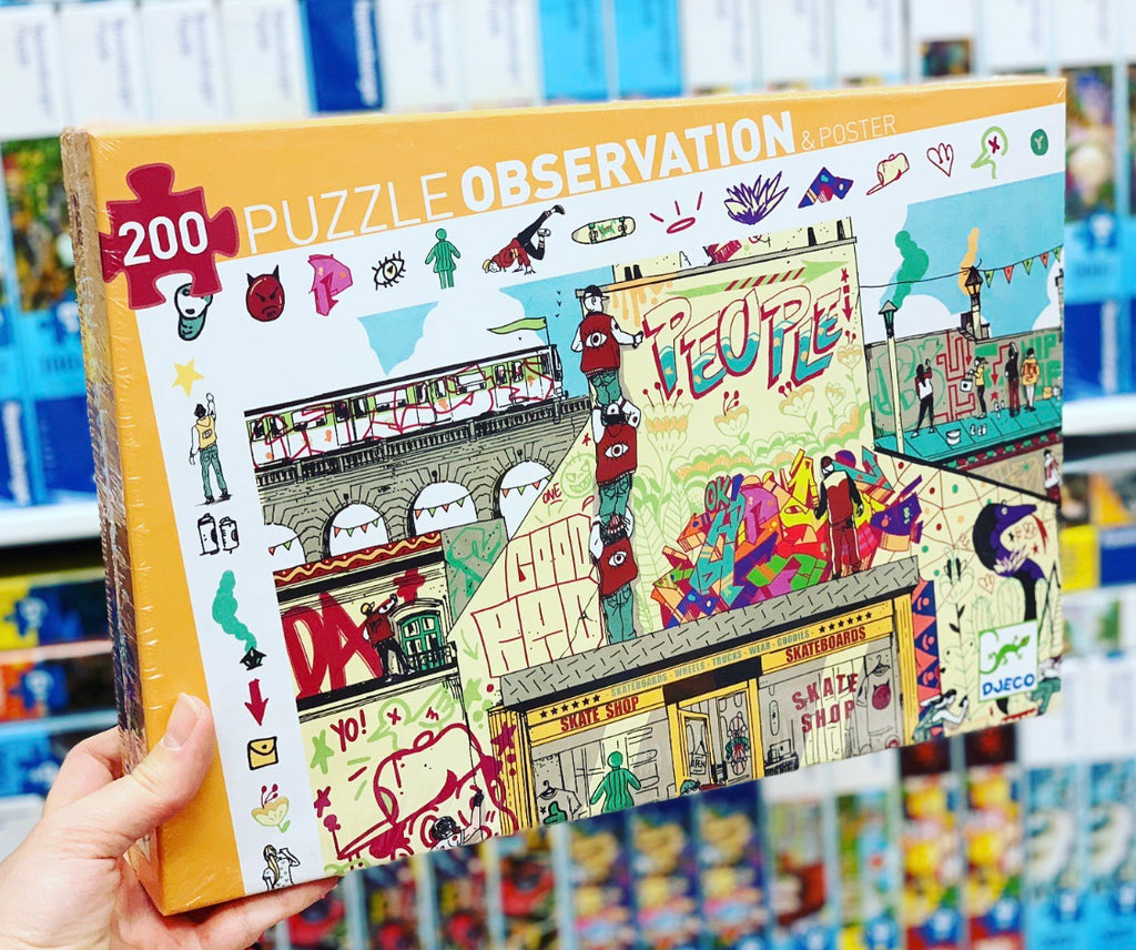 Street Art 200pc Observation Puzzle