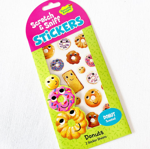 Mini Stickers - Donuts - Scratch & Sniff