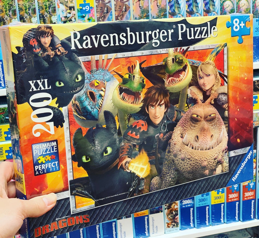 Hiccup & Astrid Puzzle 200pc