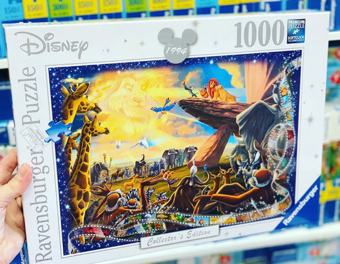 Disney Moments Lion King Puzzle 1994 1000pc - Ravensburger