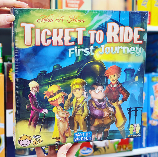 Ticket to Ride America First Journey